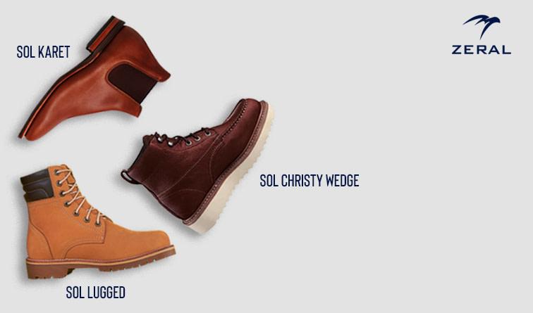 jenis sol sepatu
